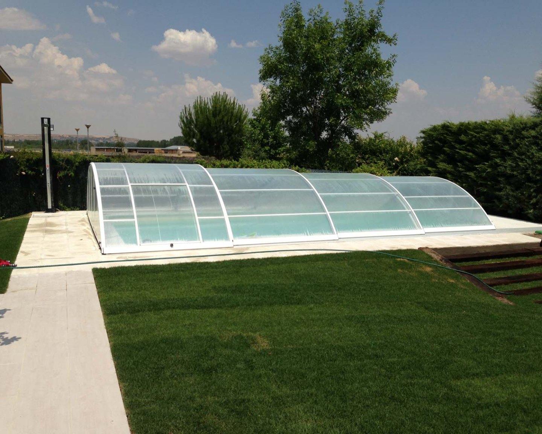 Instalación de piscinas cubiertas