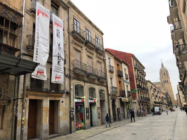 Construcciones Puente Romano - Edificio Calle La Rúa - Salamanca