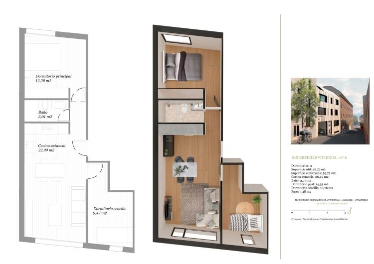 Las Rozas - Edificio Residencial - Calle Oliva